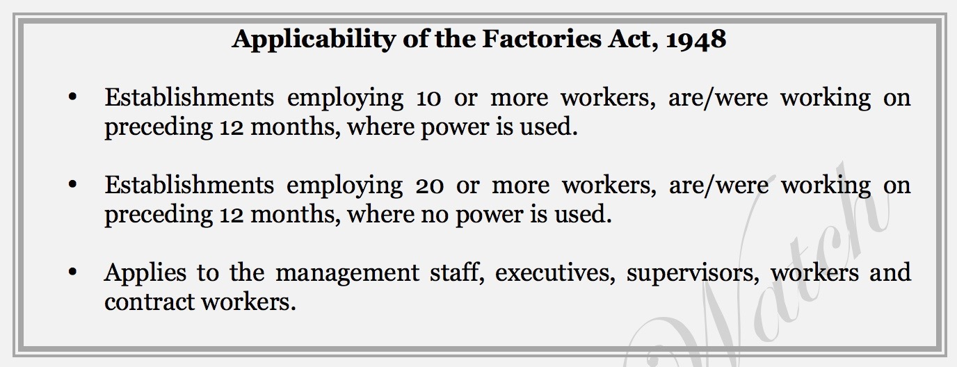factory act 2017