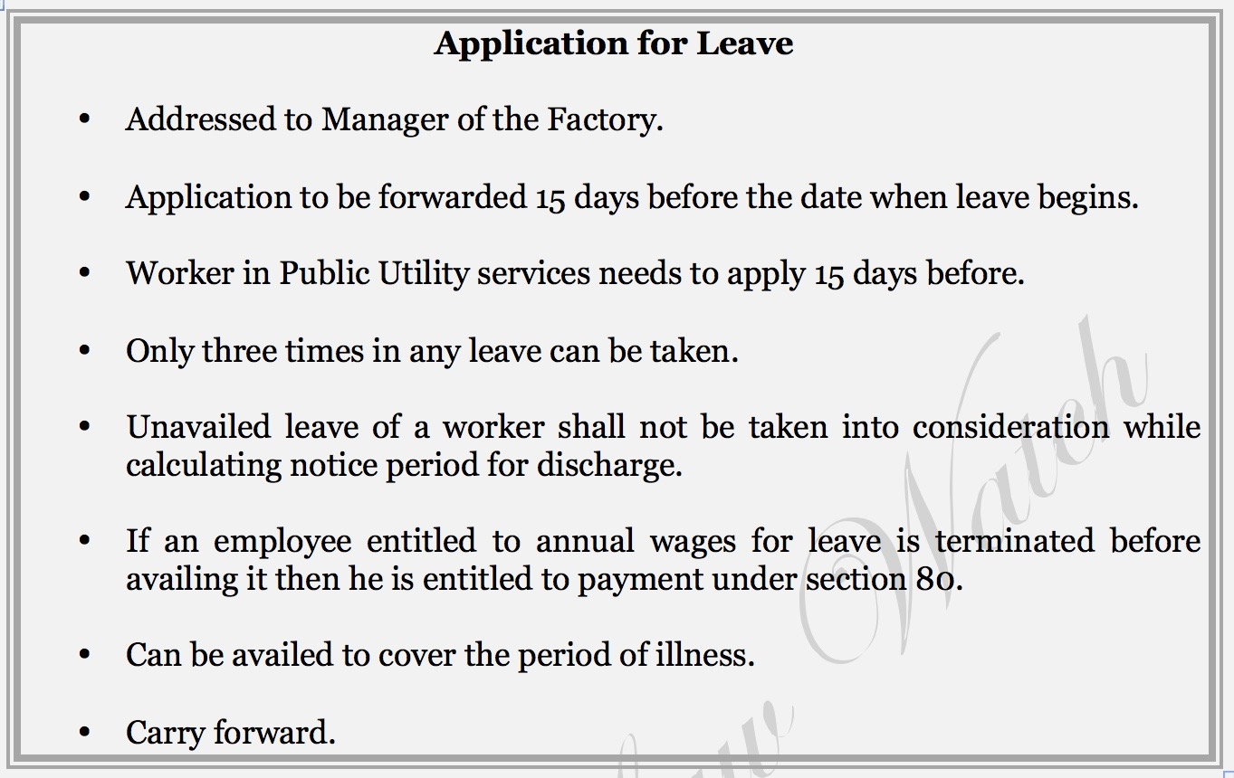 Snippets for Labour Law