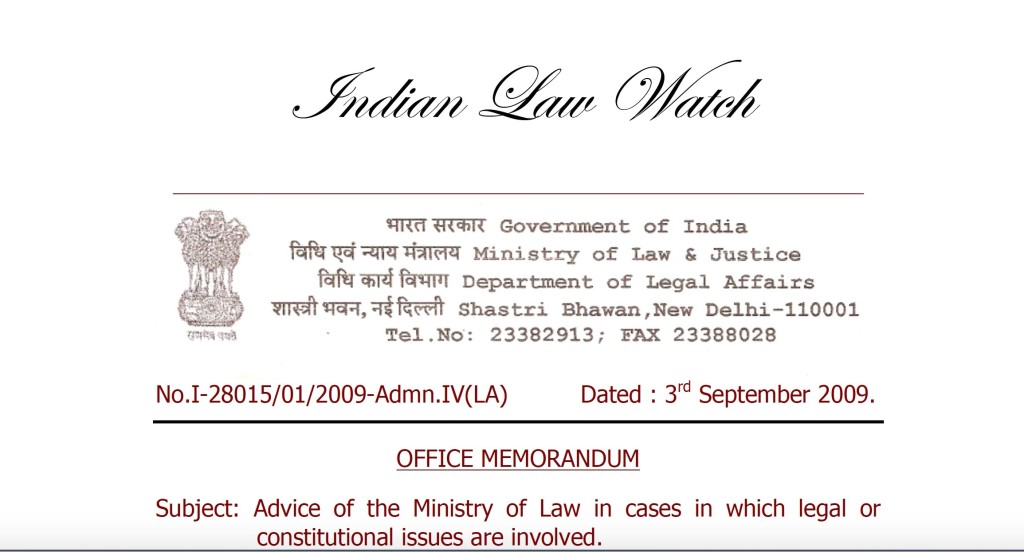 Legal Advise for Ministries